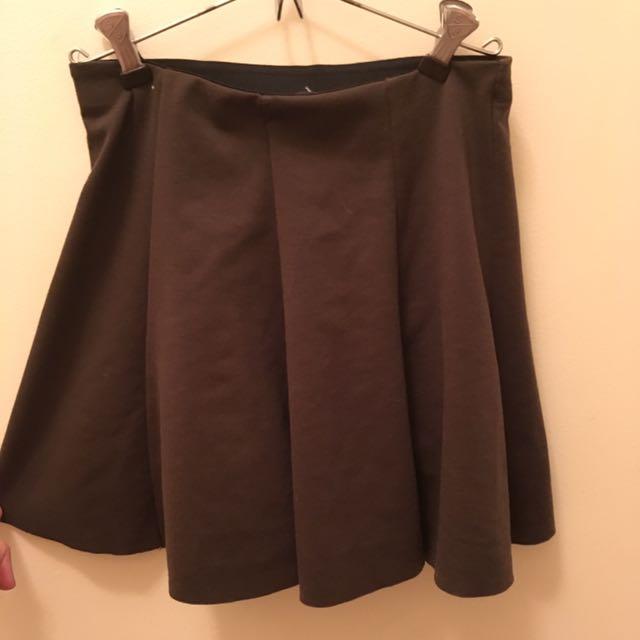 Army Green Brandy Melville Skirt