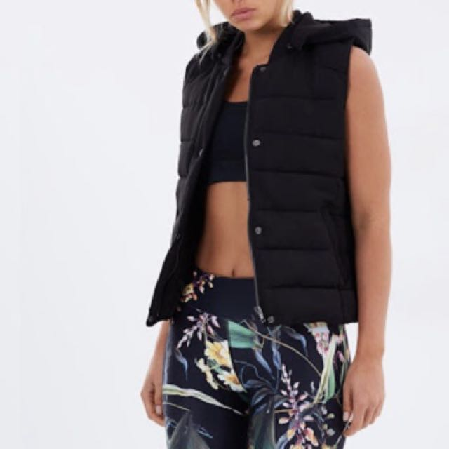 Atmos And Here Puffer Vest