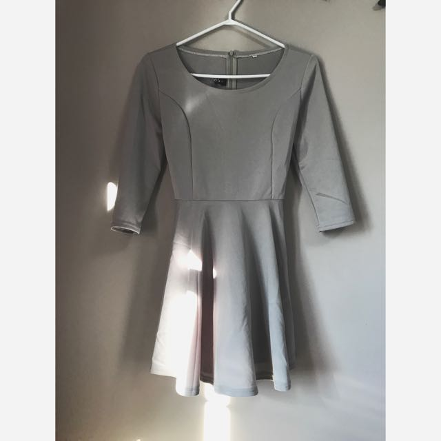 Baby Doll Style Dress From Lulus, Size L