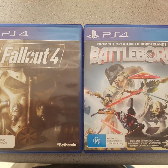 Batteborn Ps4 And Fallout 4 Ps4