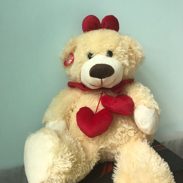Big Fluffy Bear Doll