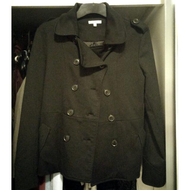 Black Coat Jacket