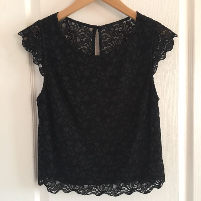 Black Lace Talula Top