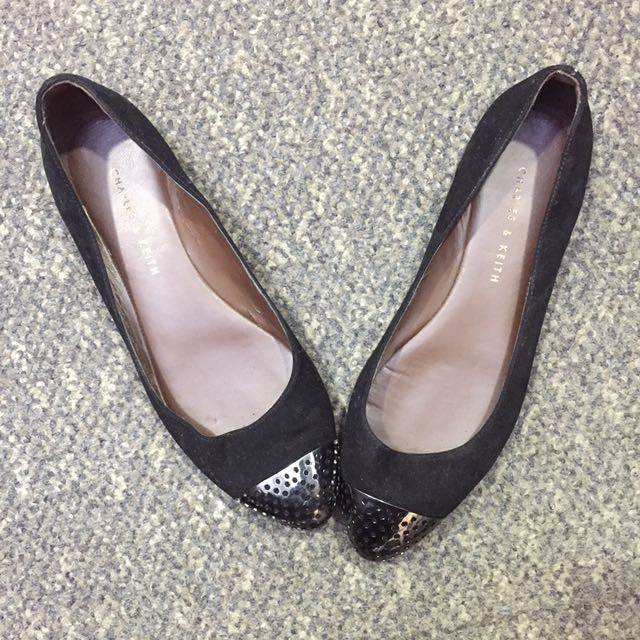Black Shoes Charles & Keith