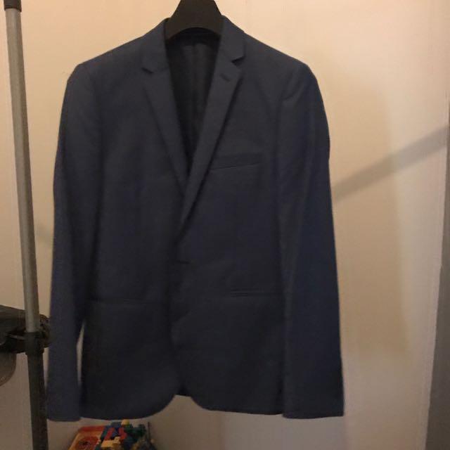 Blaq Light Navy Suit Jacket