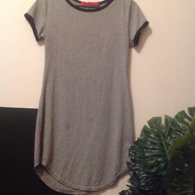 Boohoo Grey Dress