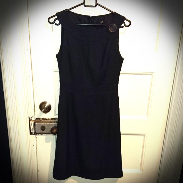 Business Dress, Dark Grey, Size 8