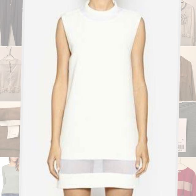 Camilla And Marc White Dress