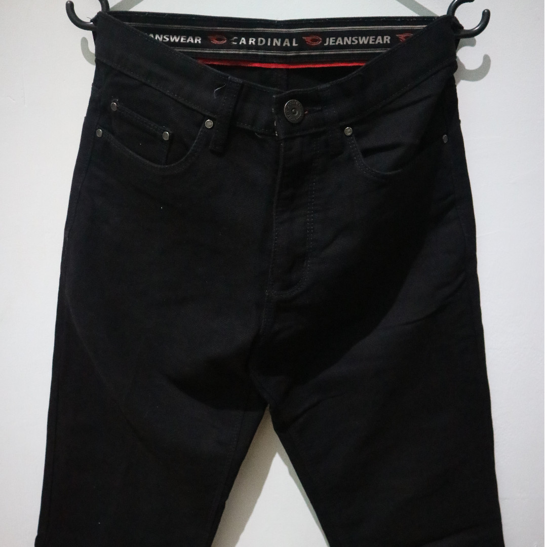 Cardinal Black Denim
