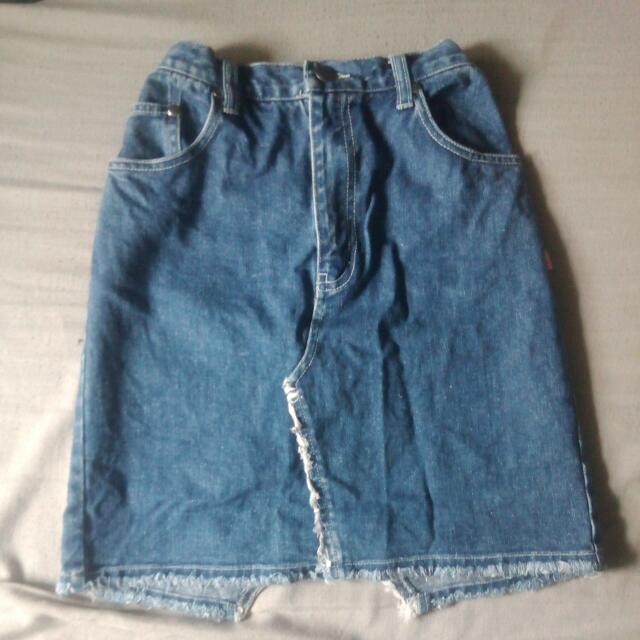 Demin Skirt #win1000