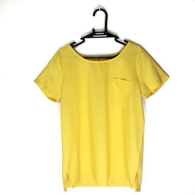ForMe Yellow Pocket Top