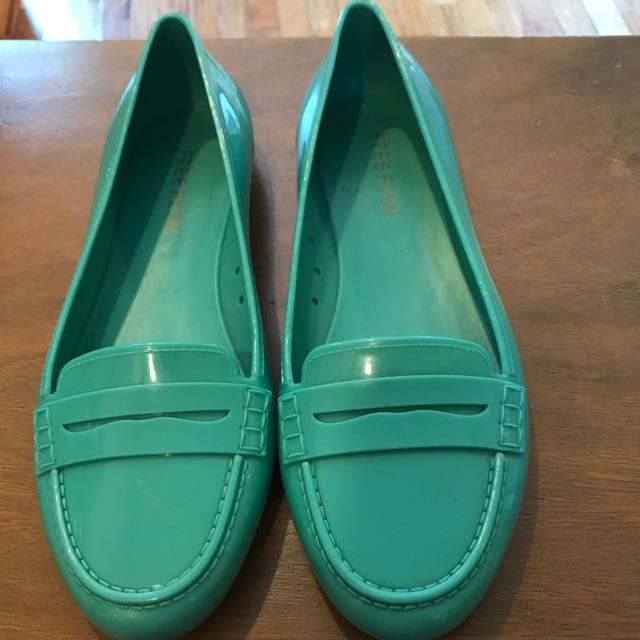 Free Fish Jelly Shoes Loafers