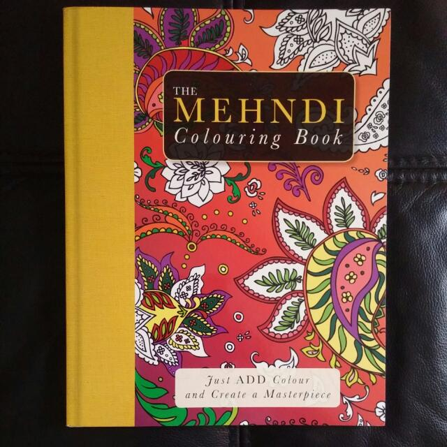 FREE NCR Delivery - The Mehndi Colouring Book