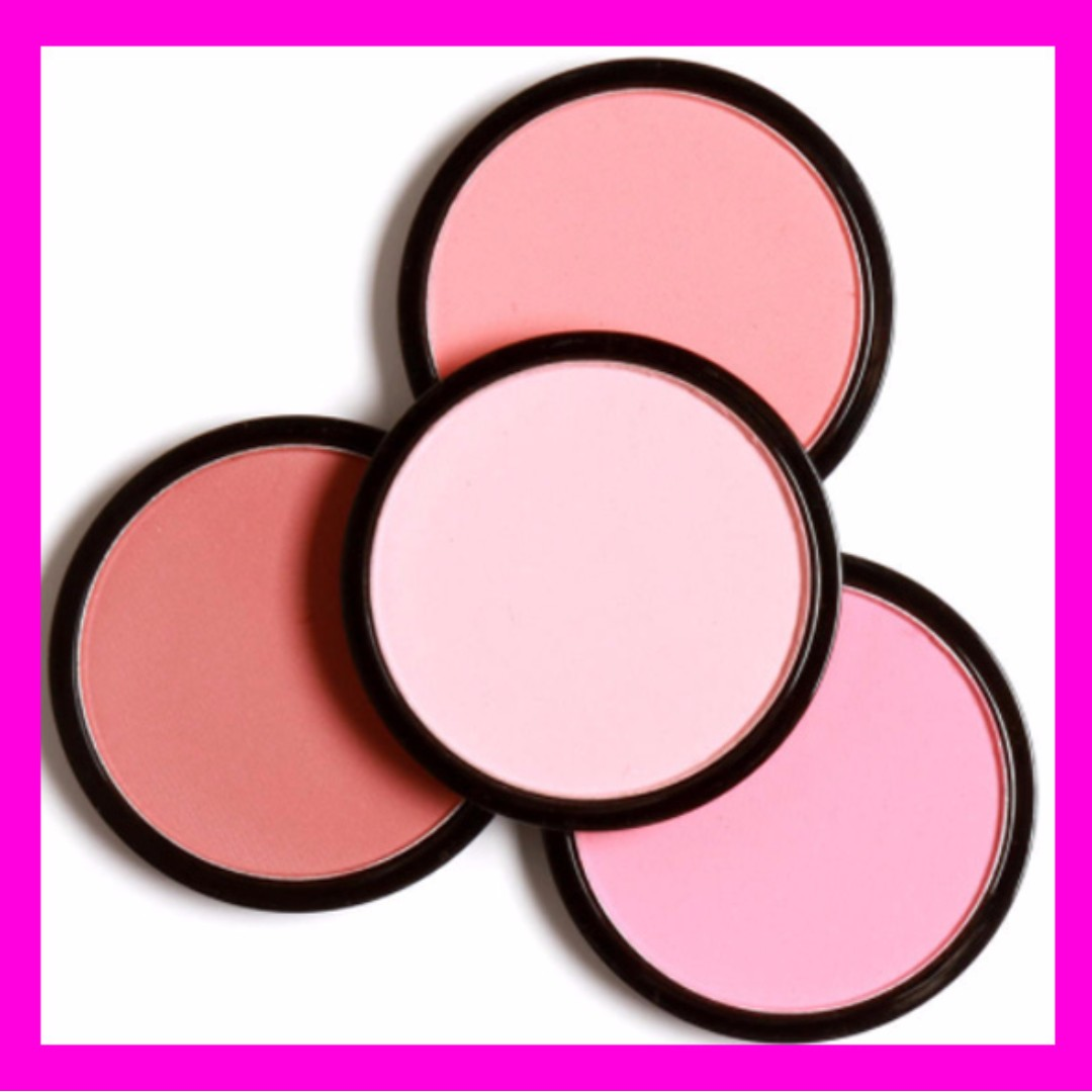Blush Makeup Cosmetic, Natural Pressed