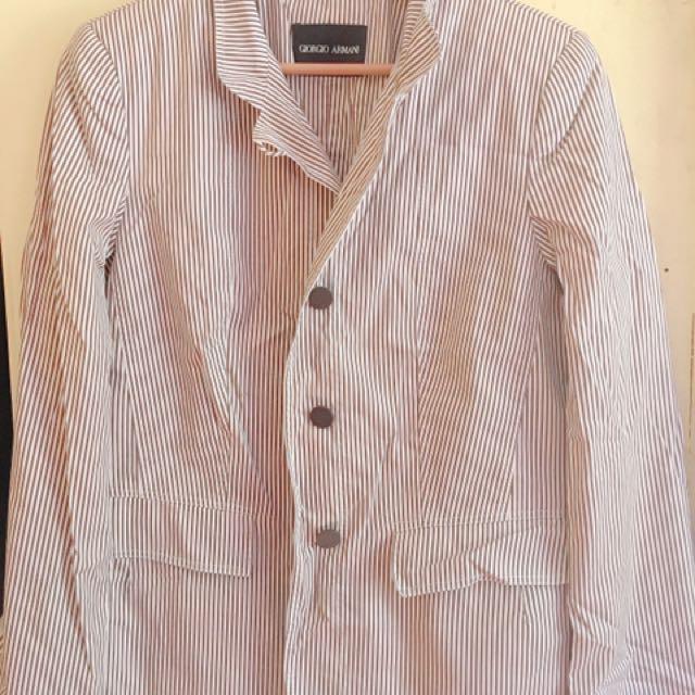 Giorgio Armani Coat & Mid-level Pants