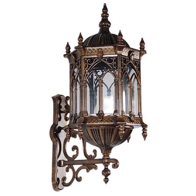 Gothic Wall Lighted Sconce