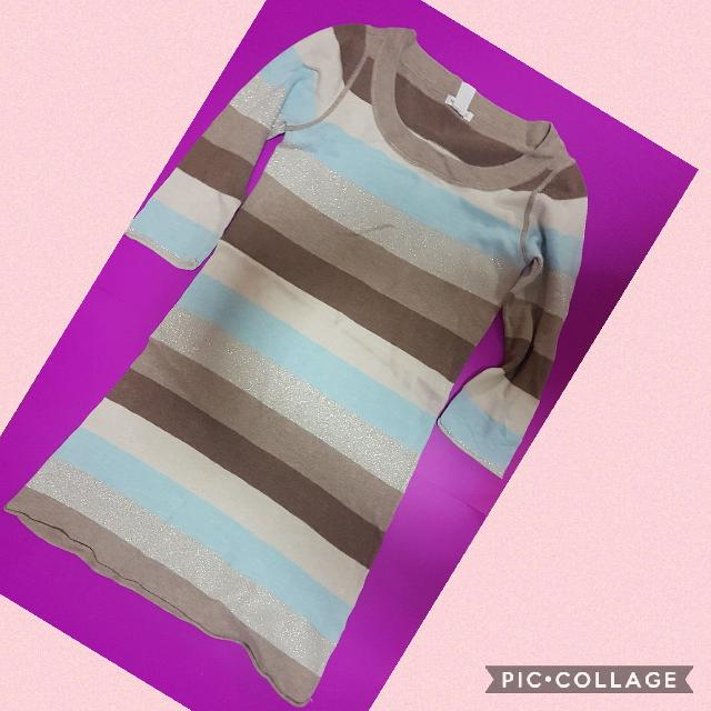 H&M sweater dress. Php 300 only. Small