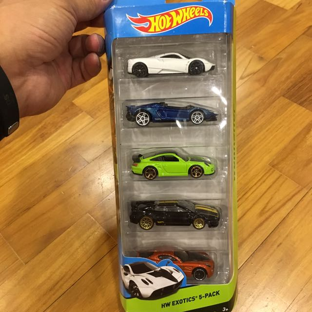 Hot Wheels Exotic Cars 5 Pack Toys Games Toys On Carousell