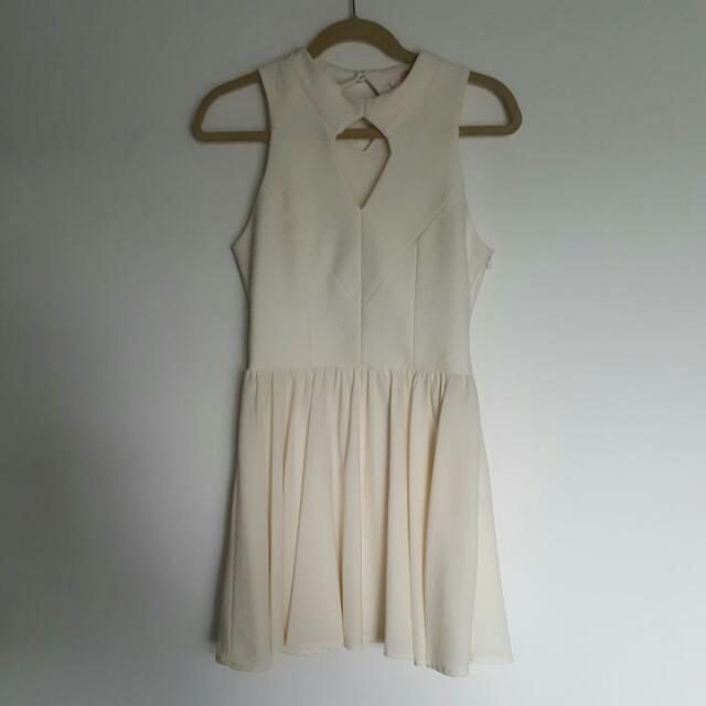 Ivory Dress Size 10 (Free With Purchase)