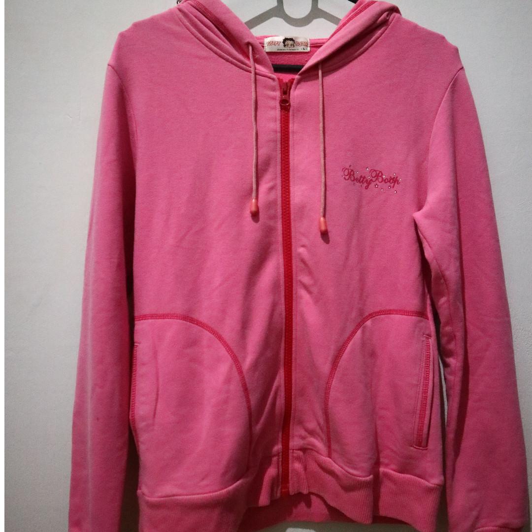 Jaket Betty Boop Pink