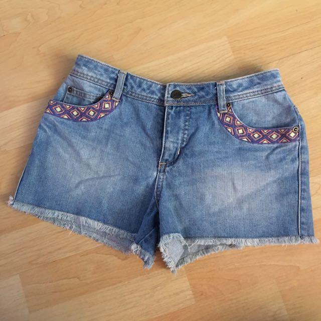 Just G Denim Shorts