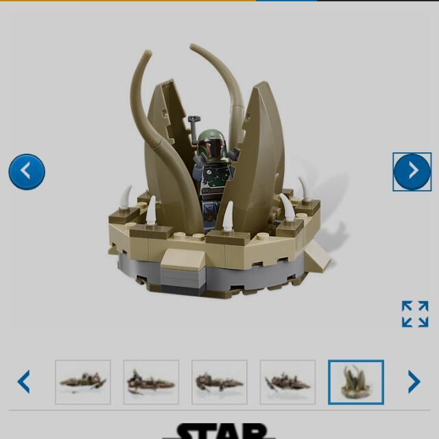 LEGO Star Wars 9496 Desert Skiff Collector Item