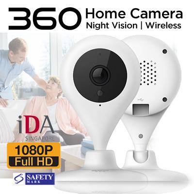 LOCAL SELLER**[360 Smart Camera] 720p/1080p FHD Camera