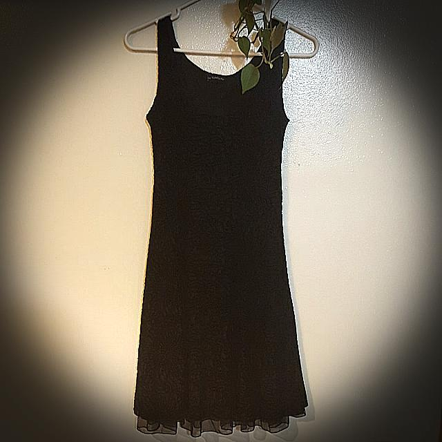 Made In Canada Designer Black Dress