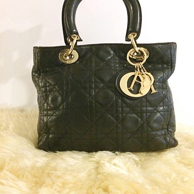 Mini Black Bag Christina Dior