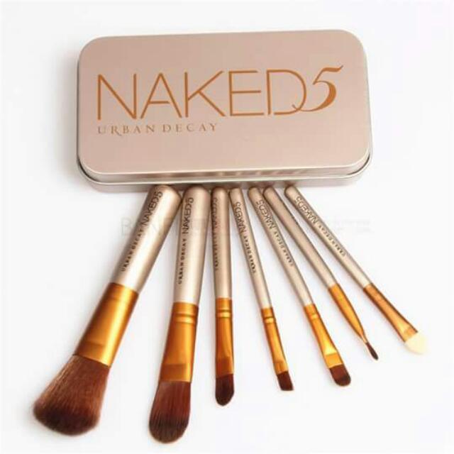 Naked 5 Brush Set