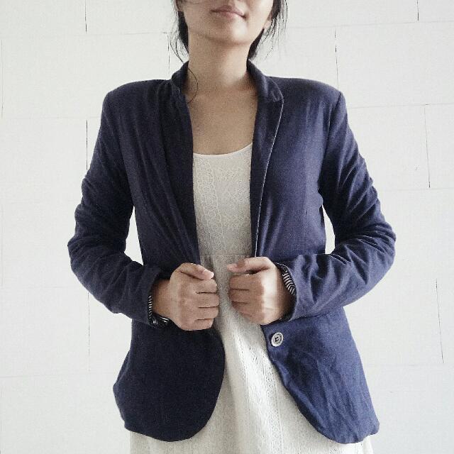 Navy blue Jacket By Jennyfer
