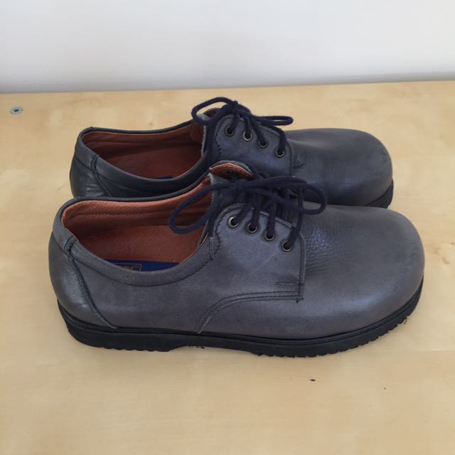 Navy Lace Up Shoes