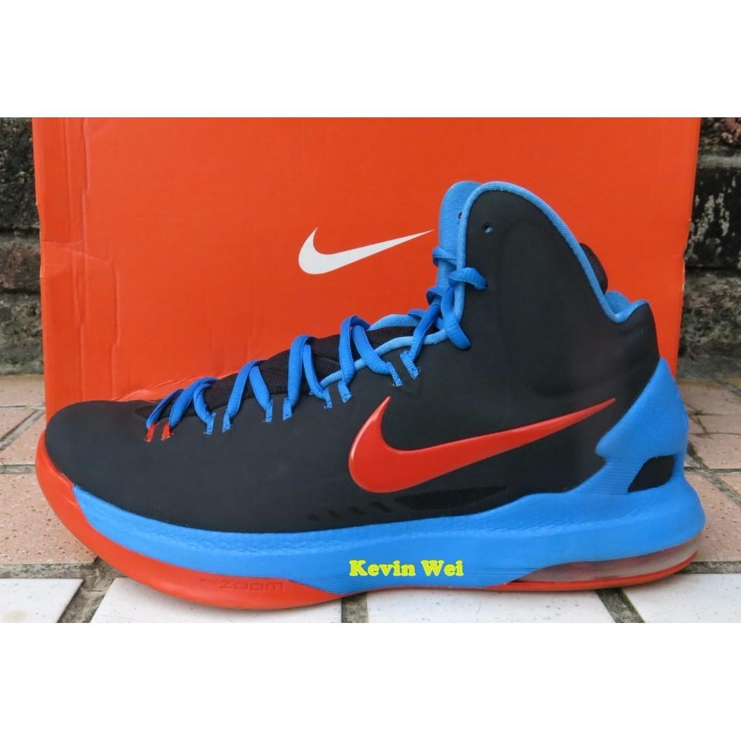 pretty nice 1c4c5 71015 Nike Zoom KDV KD V KD5 5 OKC Away US10.5 雷霆客場籃球鞋554988-048 ...
