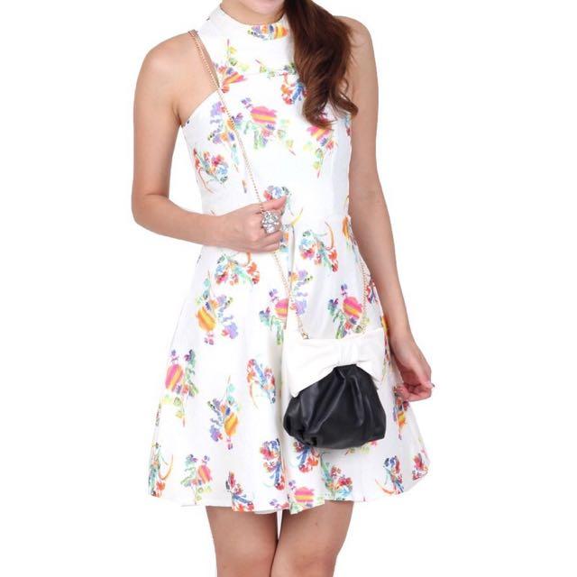 OHVOLA Kathleen Cut-in Dress