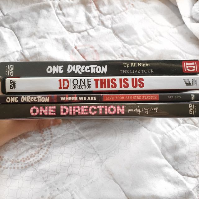 One Direction DVD Bundle