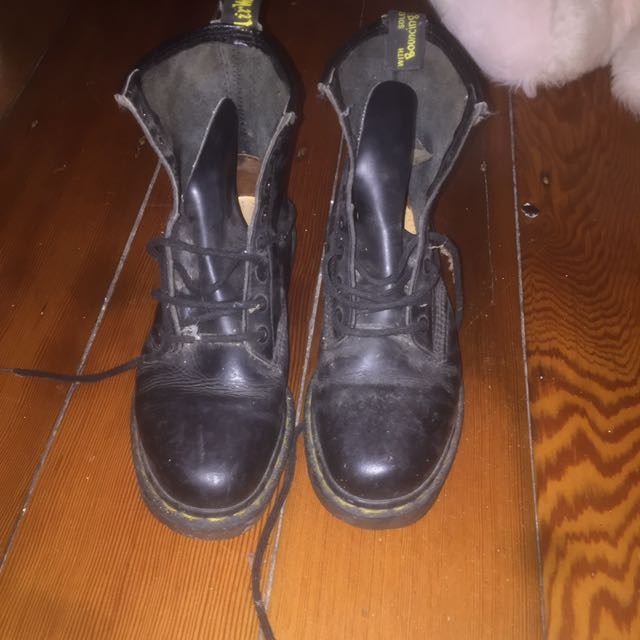 Original Dr Martens Air Wair Leather Boots
