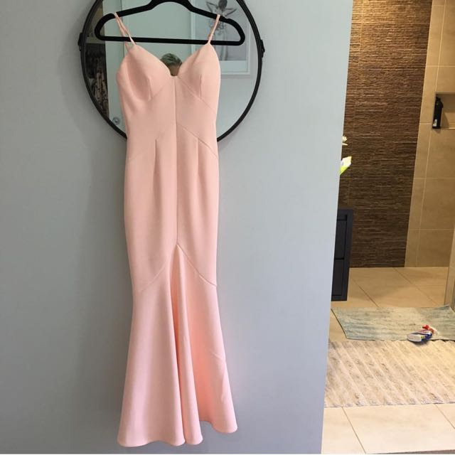 Pale Pink Gown 💘