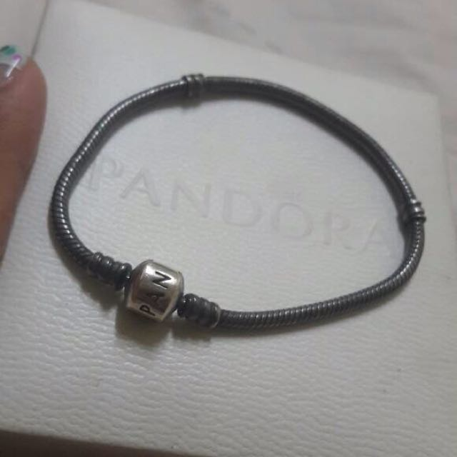 AUTHENTIC Pandora Oxidize