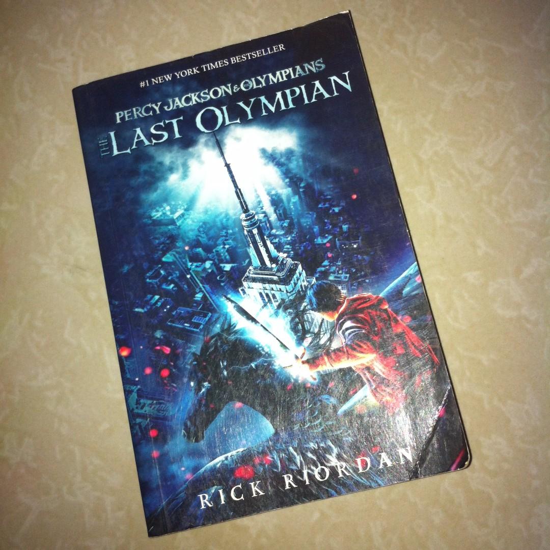 Percy Jackson : Last Olympian Novel