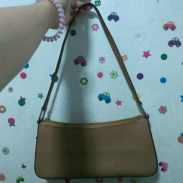 Prada Chocolate Leather Handbag