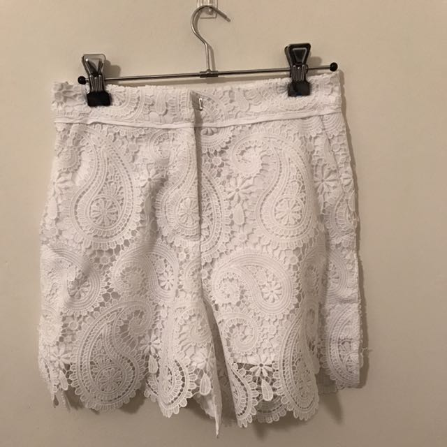 Seed Lace Shorts