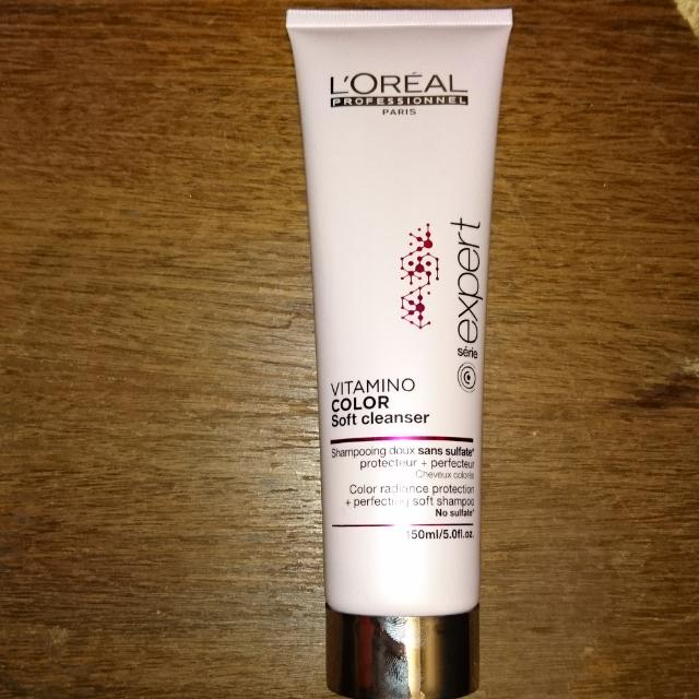 Shampoo; L'Oréal vitamins Color Soft Cleanser