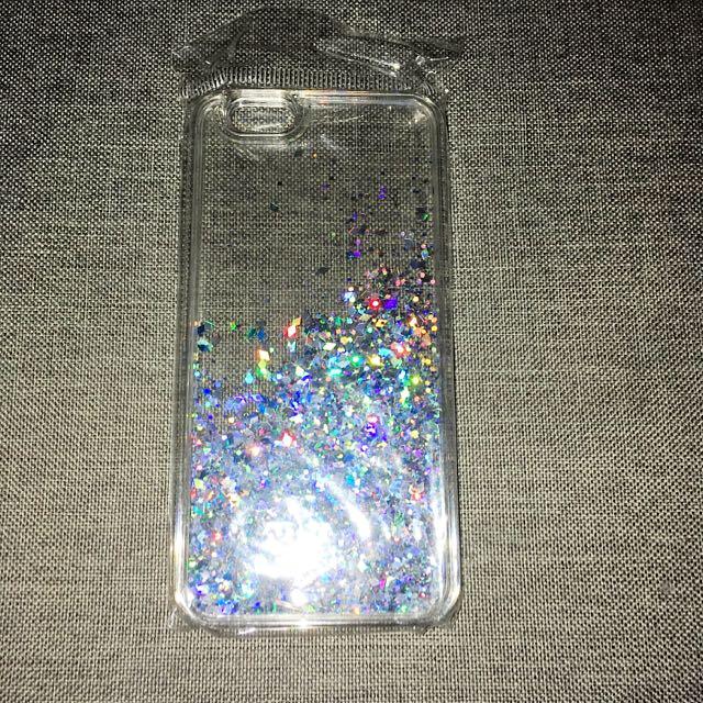 Silver iPhone 6/6s Glitter Case