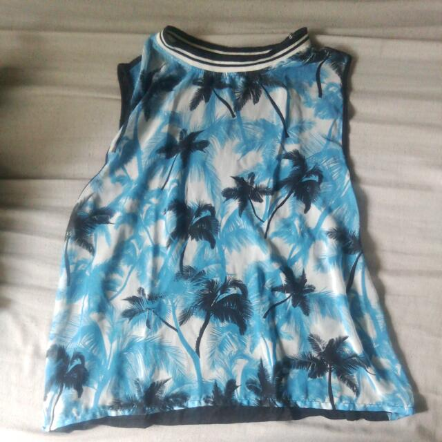 Sleeveless Shirt #Win1000