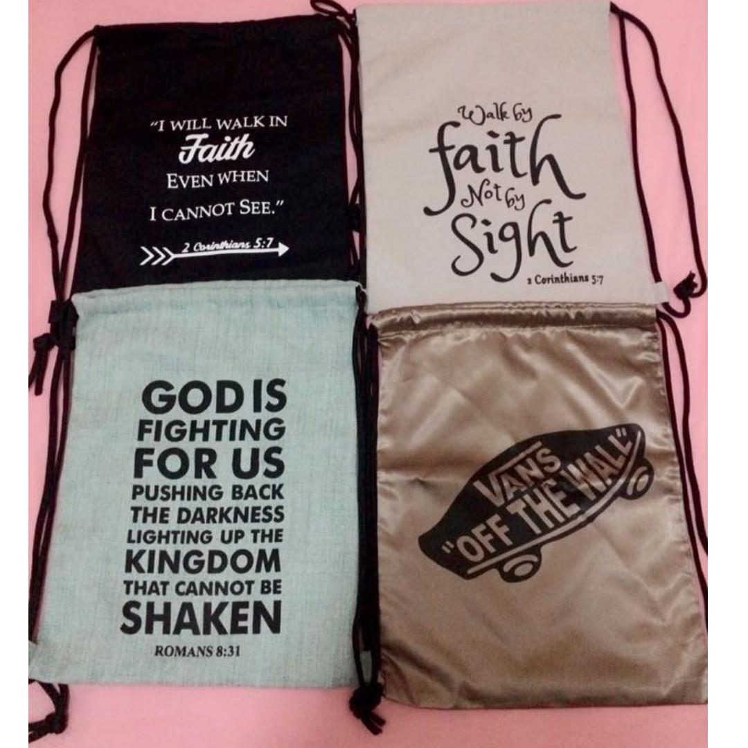 STRING BAG FAITH