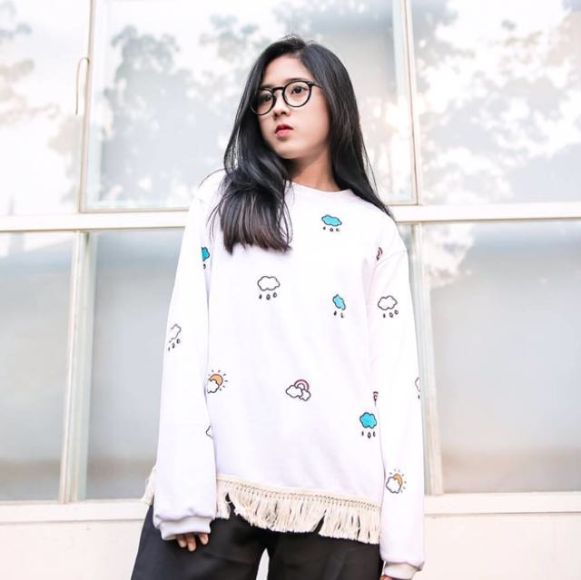 Sweater Rumbe White