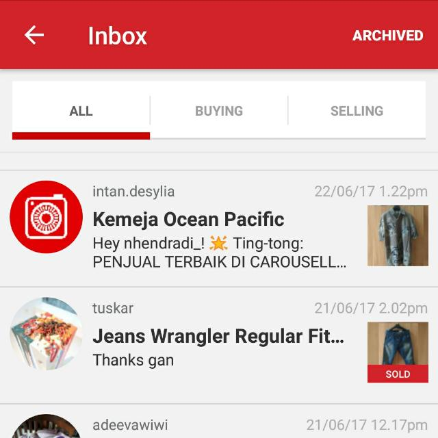 Thank You Carousell 🎉🎉