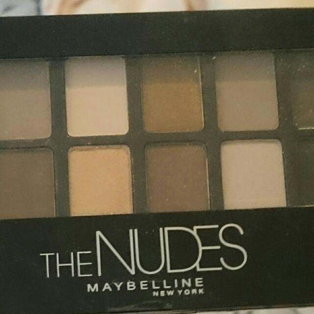 THE NUDES pallet By Maybelline