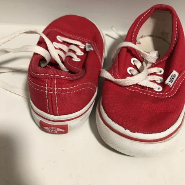 Toddler Size 6 Vans