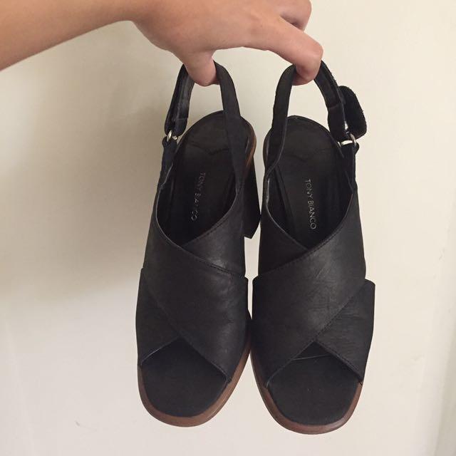 Tony Bianco Heeled Sandals Size 5